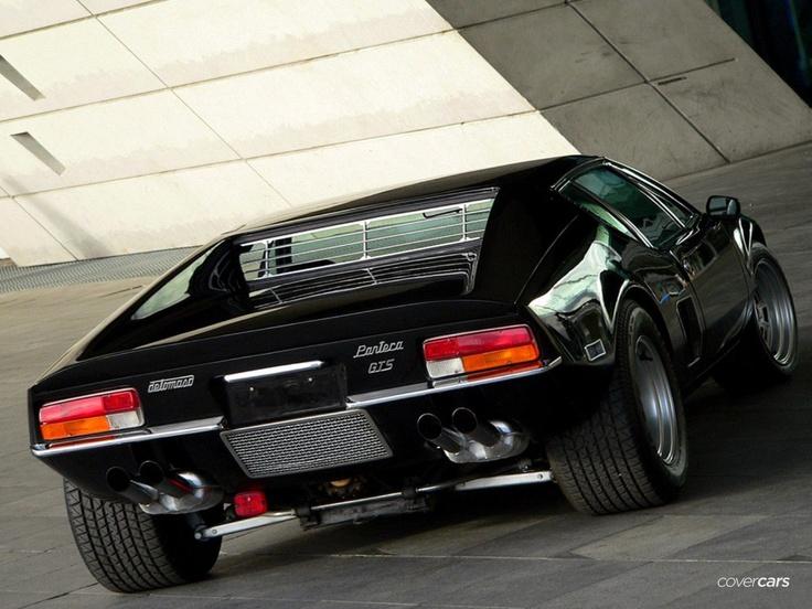 1985 De Tomaso Pantera GT5 S