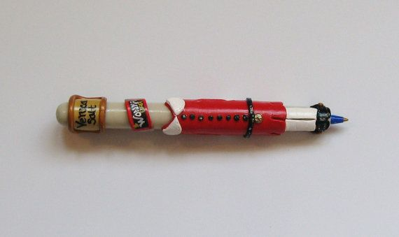 Veruca Salt Pen from Willy Wonka and the by bethspolymerpens