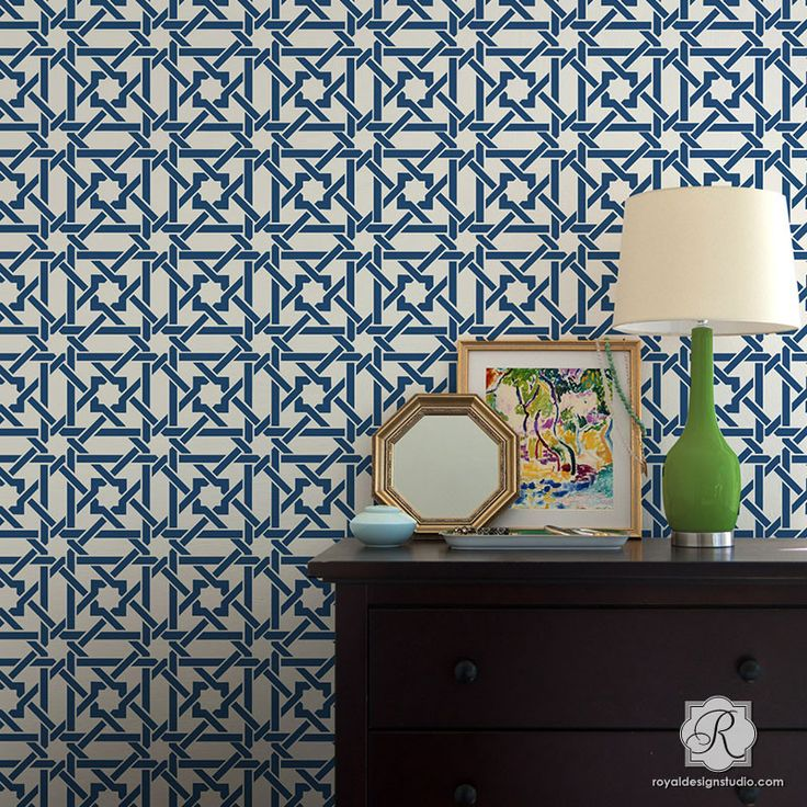 Wall Stencils Royal Design : Best modern wall stencils images on