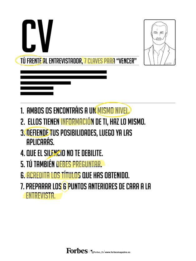 "Tú frente al entrevistador, 7 claves para ""vencer"" - core business - Forbes España"