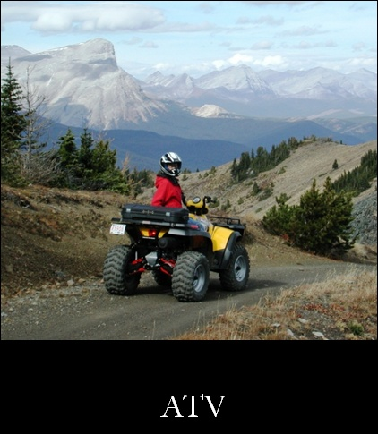 Crowsnest Pass has over 1,200km of OHV trails.
