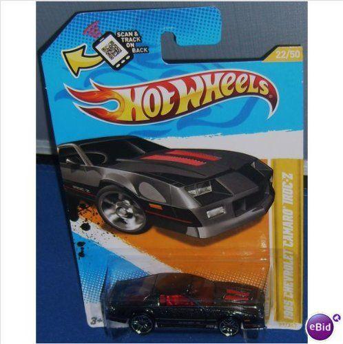 Hot Wheels 2012 New Models Chevy Chevrolet Camaro IROC Z Black Charcoal. #Wheels #Models #Chevy #Chevrolet #Camaro #IROC #Black #Charcoal