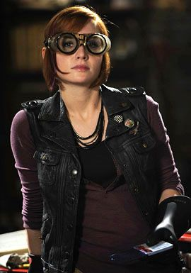 You don't mess with a hot chick wearing goggles. You just don't. ;)