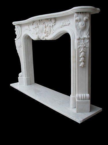 Louis xv marble fireplace – model mfp106
