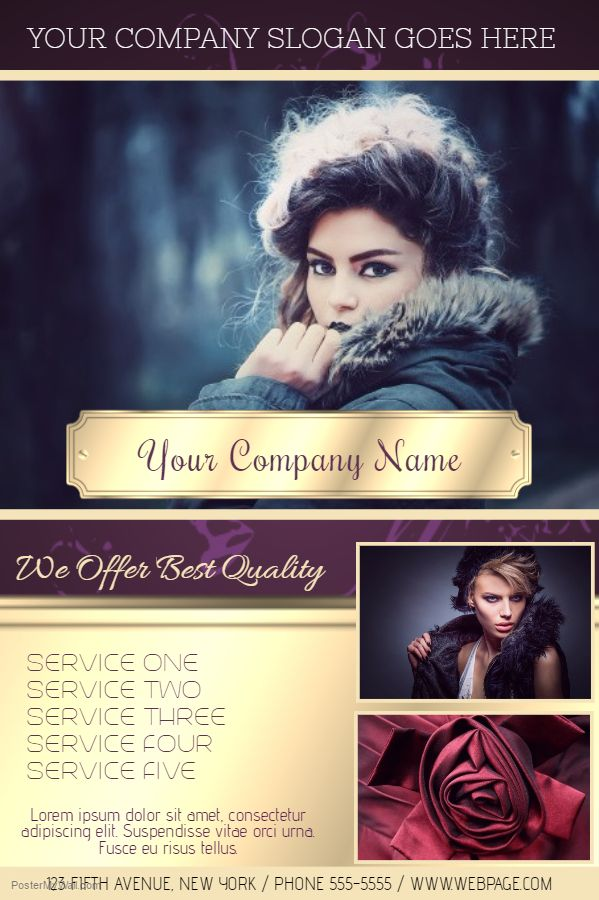 23 best Beauty Salon and Fashion Posters images on Pinterest - hair salon flyer template