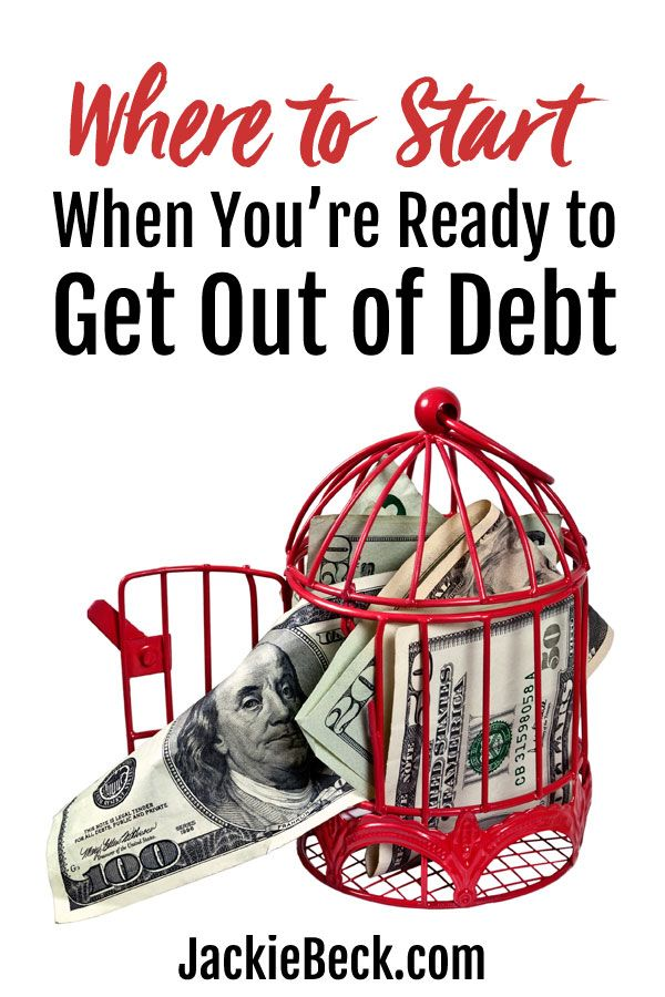 Feeling overwhelmed, tired, or frustrated with debt? Here's an easy, free place to start. | Debt snowball | Get out of debt | Debt free | How to pay off debt