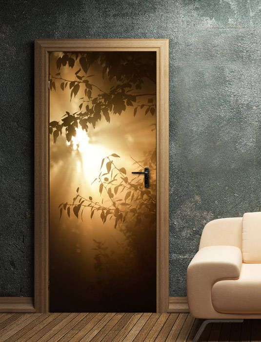 Attirant Door Murals Door Wallpaper Door Decals Nature Home Decor