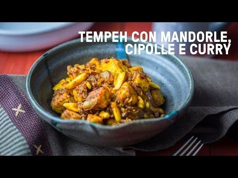 www.vegolosi.it ricette tempeh-al-curry-cipolle-mandorle