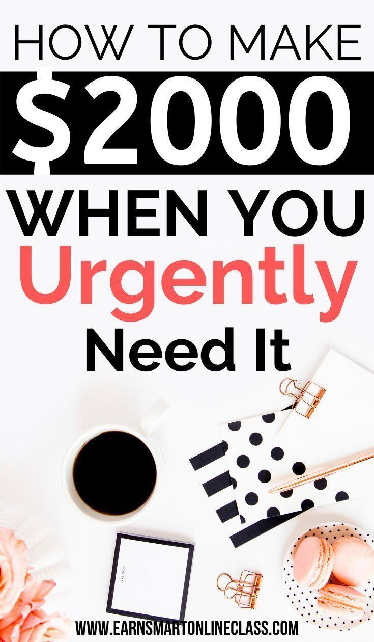 Need Money Now 19 Quick Ways To Get Money Today Make Money Today Ways To Get Money Need Money