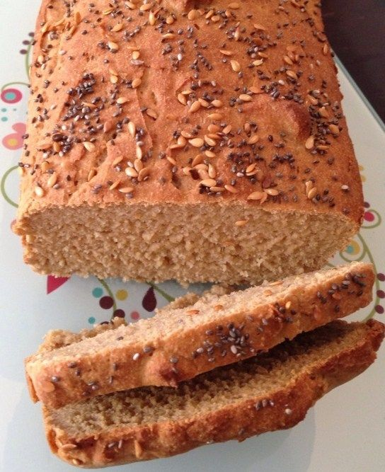 Pão sem glúten super macio (com farinha de grão de bico)