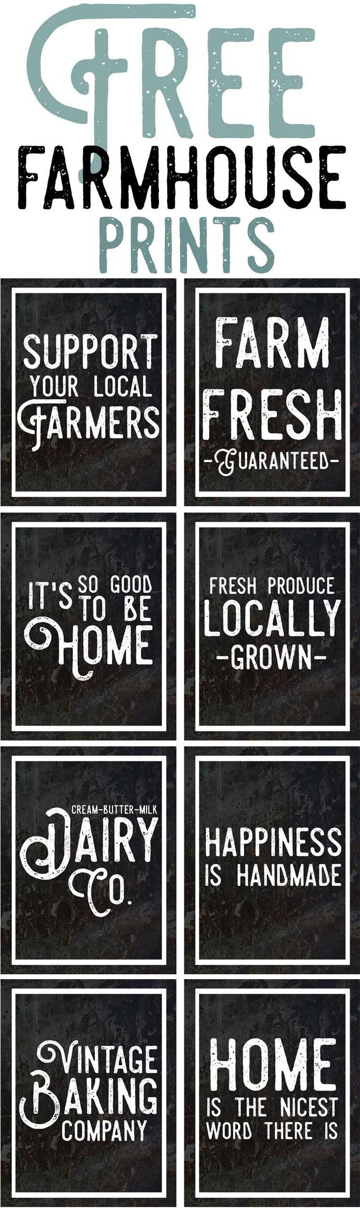 Free Farmhouse Inspired Prints-Vintage Farm and Farmhouse Style Printables-farmhouse decor ideas.jpg