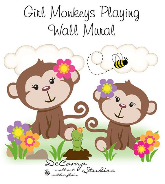 1016 best images about country on pinterest jungle for Baby jungle mural