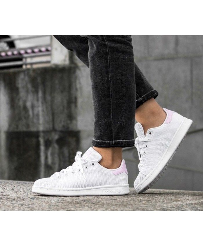 huge discount e9c0b 2f0ff Adidas Stan Smith W Ftwr White Wonder Pink Trainers | adidas ...