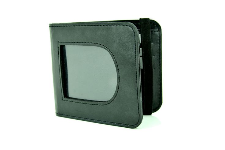 Ergonomic Design Green Colour Genuine Leather Wallet