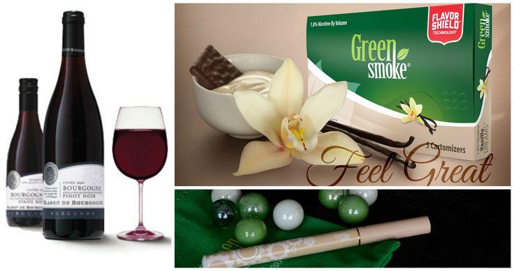 Vanilla Dreams și Pinot Noir  http://www.greensmoke.ro/