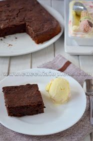 brownie de chocolate e abobrinha