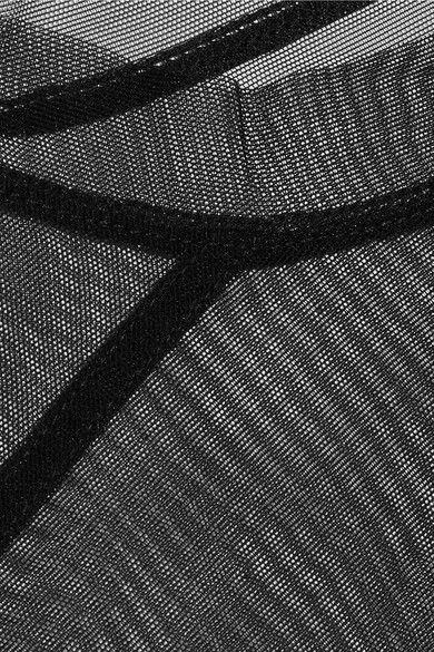 Rick Owens - Stretch-mesh Top - Black - IT40