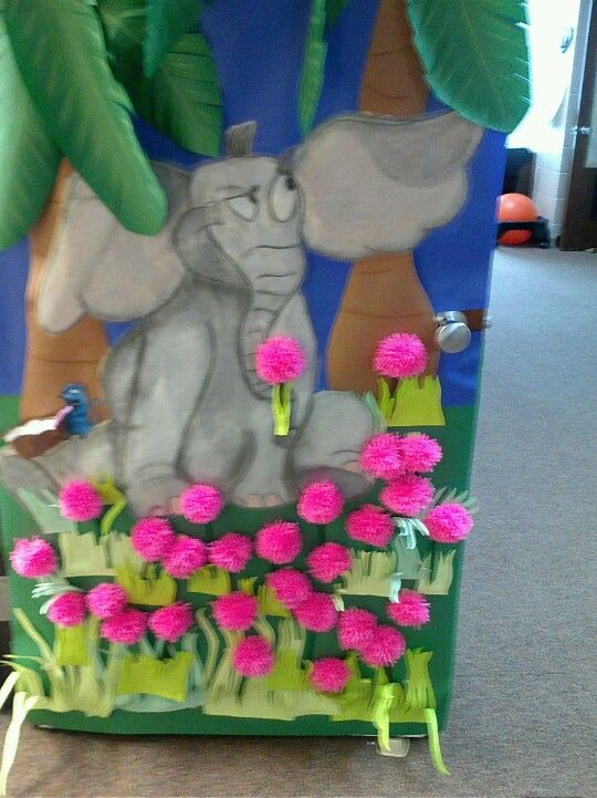 Classroom Board Decoration For Preschool ~ Horton hears a who door decoration class mom ideas