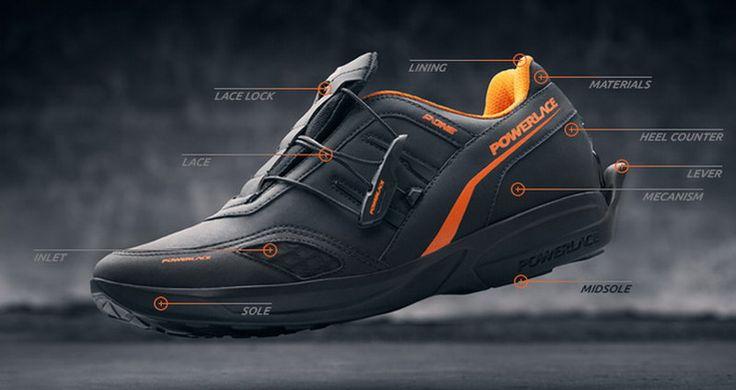 Созданы самозашнуровывающиеся кроссовки