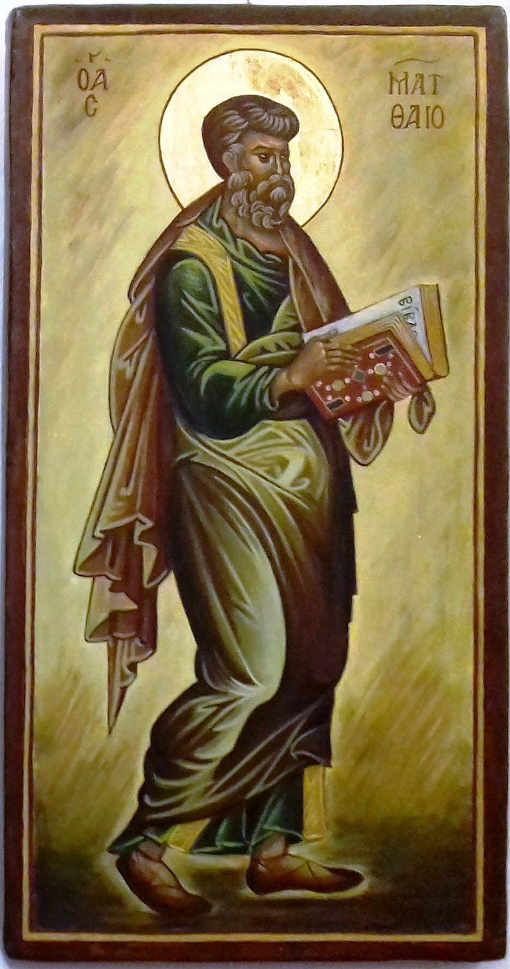 Szent  Máté  evangélista Görögország XIII. század