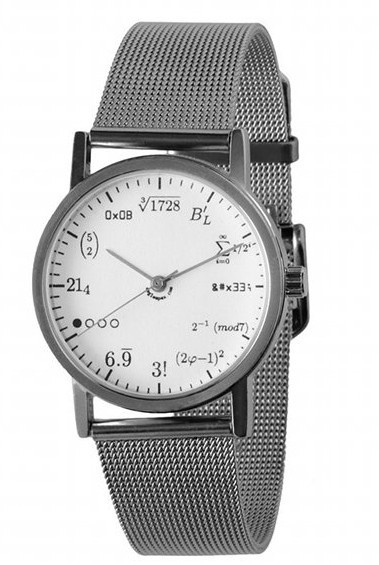 Mathematics watch: Math Watches, Geekwatch, Geek Watches, Wrist Watches, Watches 65, No Baking Cookies, Geek Wrist, Products, Wristwatch