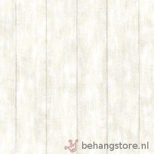 Esta Ginger sloophout wit l.beige - Ginger behang - Esta home - Behang KIDS en Baby - Behangstore
