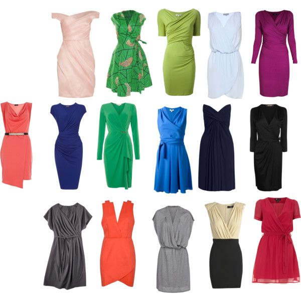 Style dresses for apple shaped people
