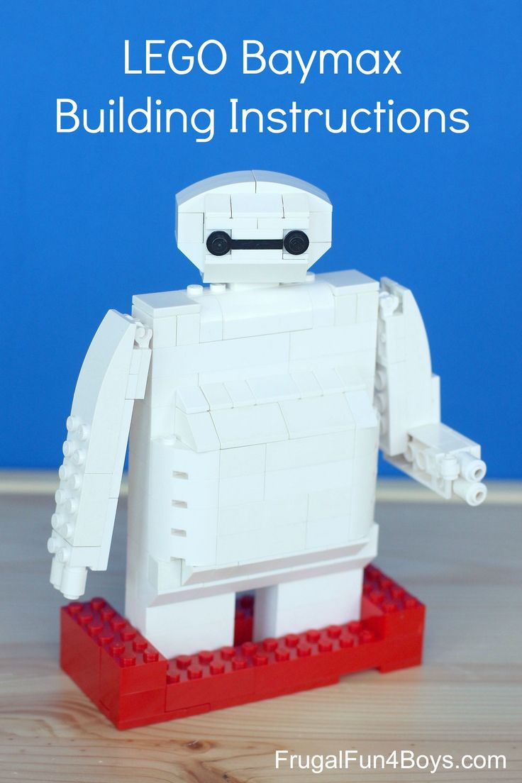 Lego Baymax Building Instructions