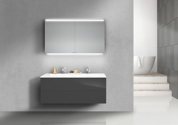 die besten 25 doppelwaschtisch mit unterschrank ideen auf. Black Bedroom Furniture Sets. Home Design Ideas