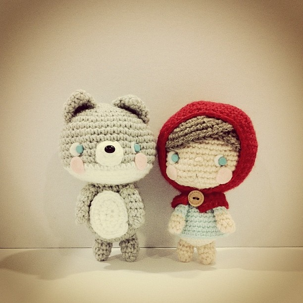 Lobo Amigurumi Tutorial : 17 Best images about Fairy Tale Crafts & Crochet on ...