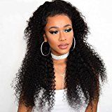 RECOOL 8A Brazilian Curly Virgin Hair 4 Bundles Cheap Human Hair Extensions Thick Bundles Natural Color for Black Women Jerry Curly No Shedding Tangle Free Can Be Dyed and Bleached(18 18 20 20)