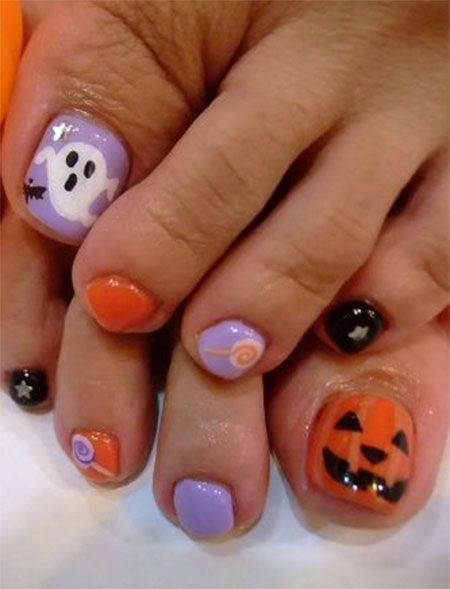 Halloween Toe Nail Art - 32 Best Halloween Toe Nail Art Images On Pinterest Make Up