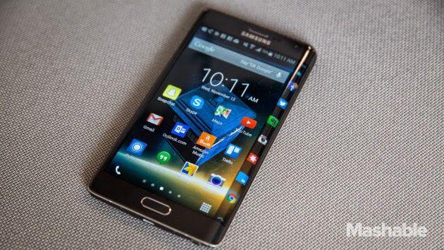 Samsung Punya Paten Desain Ponsel Layar Dual Lengkung, Galaxy S Edge?