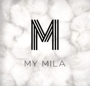 Clothing brand logo - My Mila.  Designed by Nickels & Linc Inc.