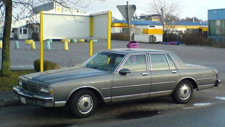 1987–89 Chevrolet Caprice 4-door Sedan