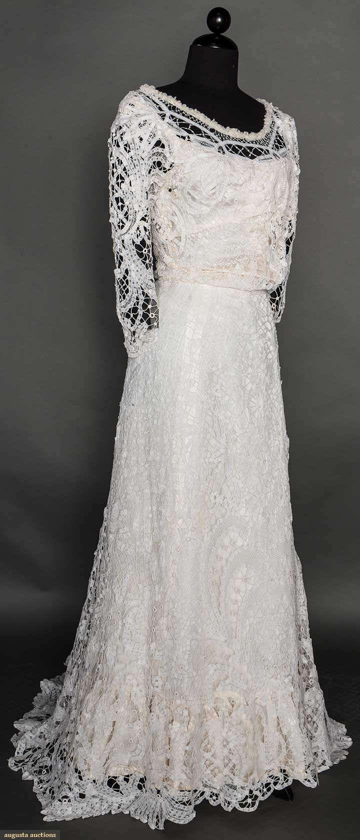 Battenburg Lace Gown Ca