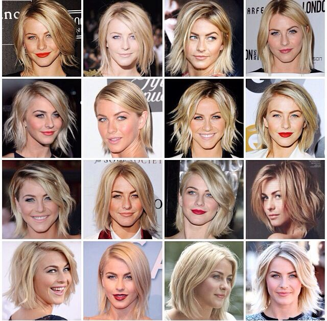 Julianne Hough. She makes me love my short hair.