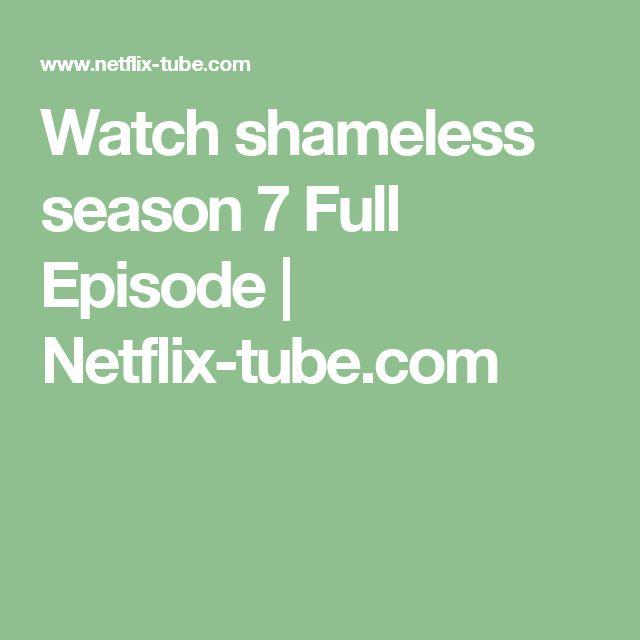 Watch shameless season 7 Full Episode   Netflix-tube.com