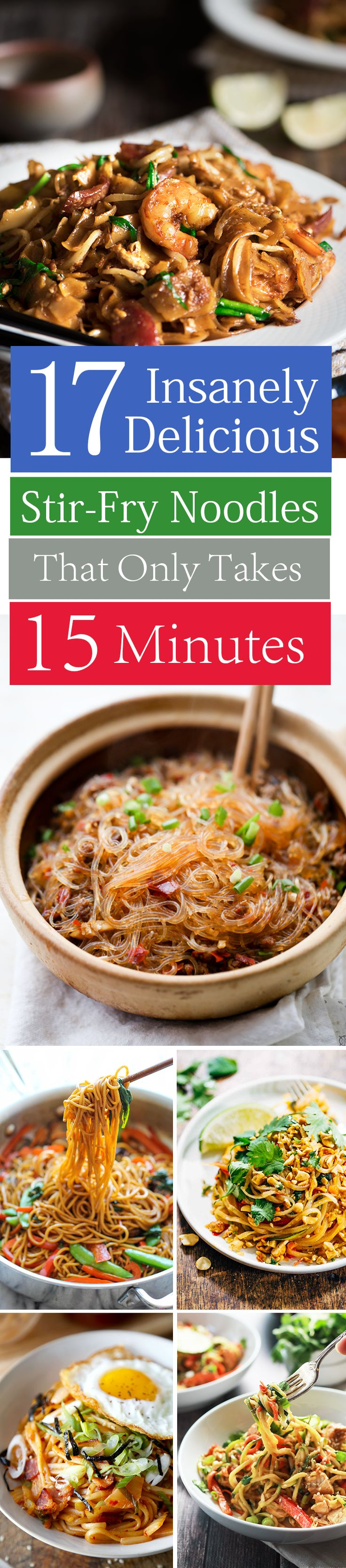 17 Insanely Delicious Stir-Fry Noodles That'll Only Take 15 Minutes