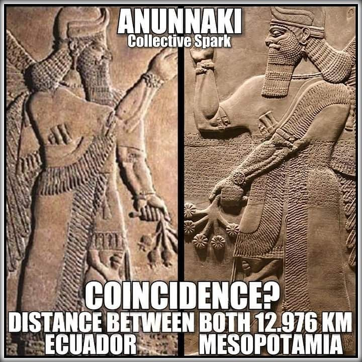 """The Anunnaki or """"Those of Royal Blood"""" are considered as"""
