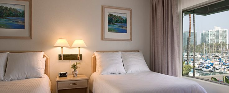 Rooms and Suites at the Marina Del Rey Hotel--remodeled summer of 2014