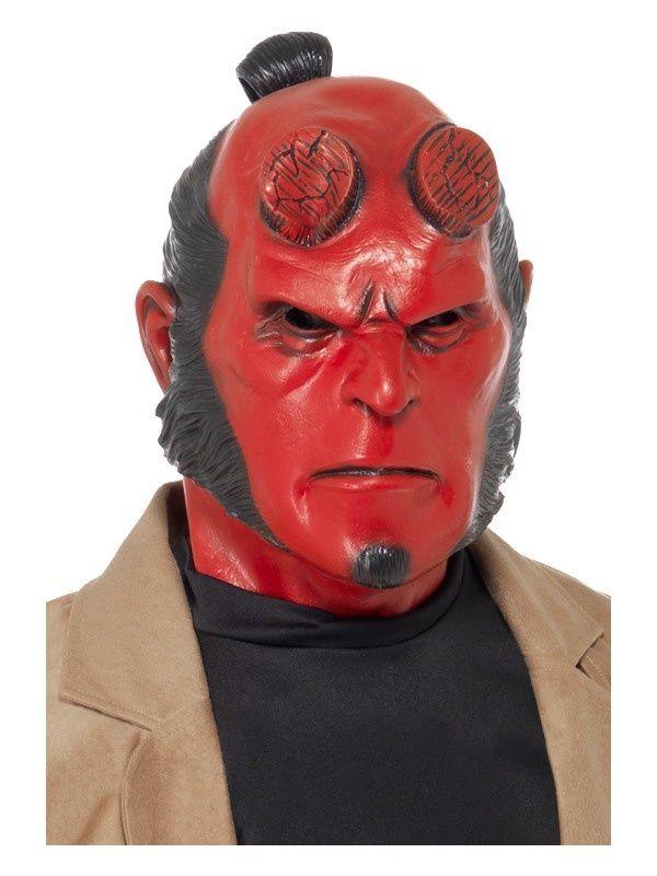 Maska HELLBOY - coś dla fanów komiksów i filmów z tym bohaterem