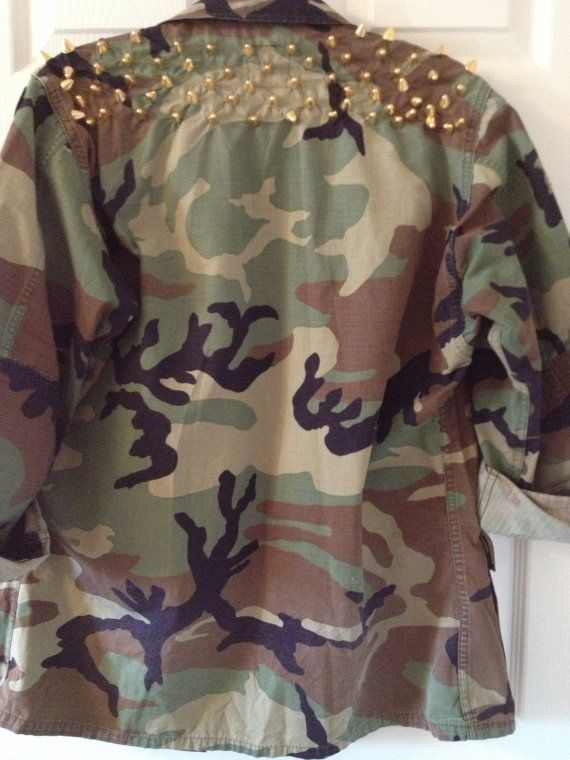Army Fatigue Blazer for Women | ... Back Army Fatigue Jacket Custom or Plain Camo Camoflauge Women Men