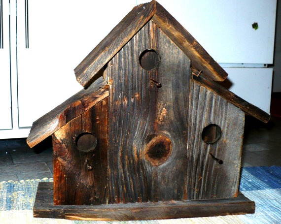 17 best images about birds houses on pinterest blue bird - Old barn wood bird houses ...