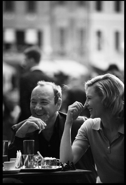 Kevin Spacey & Cate Blanchett by Peter Lindbergh