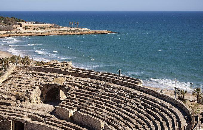 Un anfiteatro junto al mar, uno de los rincones más bonitos de Tarragona