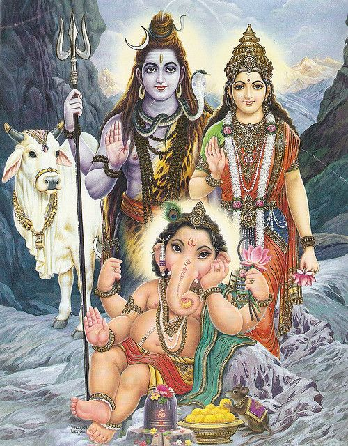 #ganesh #shiva #parvati  Recent Photos The Commons Getty Collection Galleries World Map App ...
