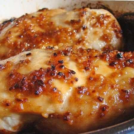 Cheesy Garlic Baked Chicken... Making this for dinner tonight!!