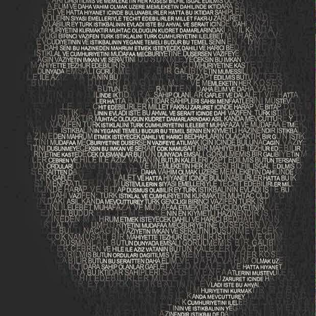 Atatürkün ''Beni görmek demek mutlaka yüzümü görmek demek değildir; benim fikirlerimi benim duygularımı anlıyorsanız ve hissediyorsanız bu yeterlidir'' sözleri Türk halkına verilmiş önemli bir mesajdır.Saygı ve minnetle anıyorum . by hakantellioglu | dubrovnik-croatia.com