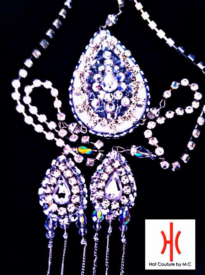 Gatsby / Flapper Jeweled Headpiece